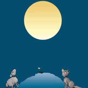 Looking at the same Moon